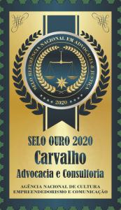 Selo de Ouro Advocacia Carvalhos