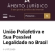 Artigo Jurídico união Poliafetiva